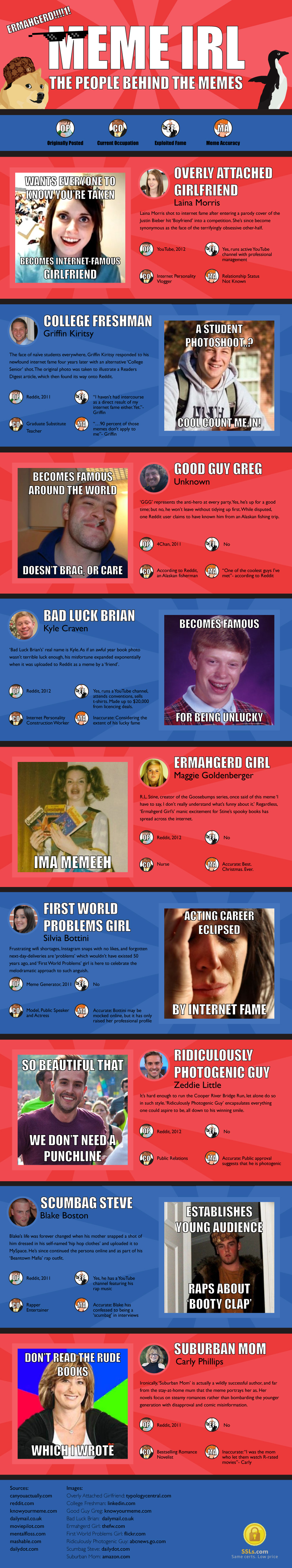 Memes Infographic