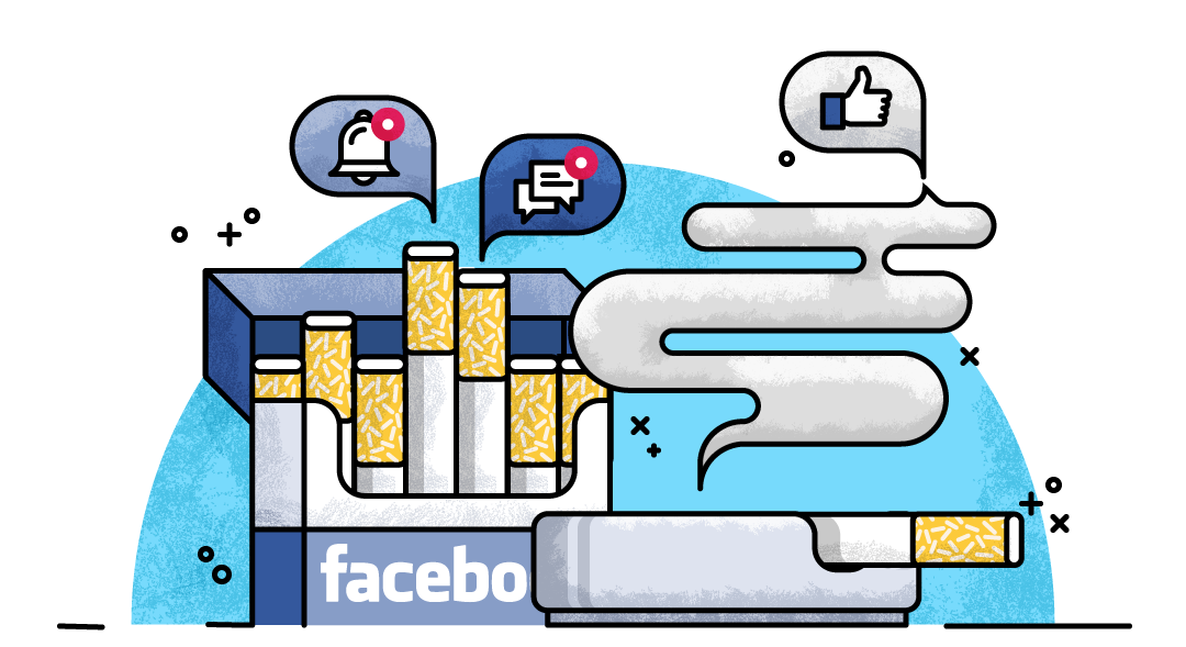 the facebook addiction The point of facebook, a company whose servers house way too much of the  humanity's personal information, is to keep using facebook.