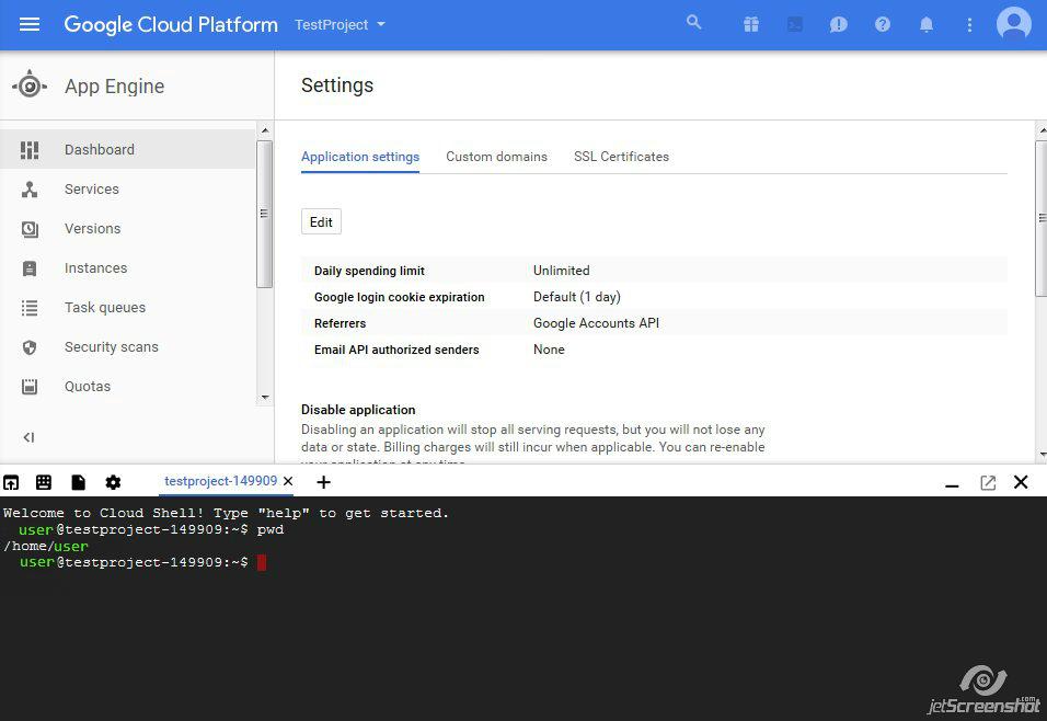 How to generate a CSR on Google Cloud platform – HelpDesk