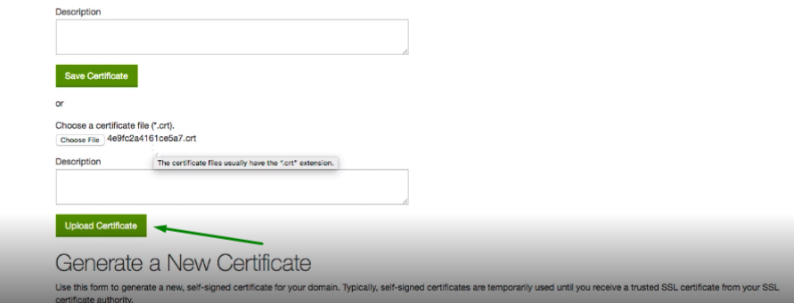 How to install an SSL certificate in GoDaddy cPanel